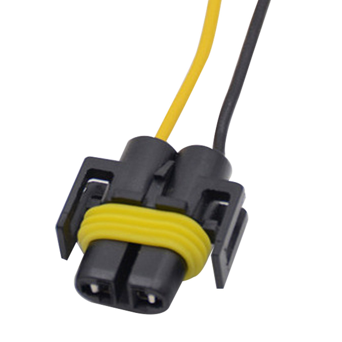 tonewan 2pcs h8 h11 wiring harness socket female adapter. Black Bedroom Furniture Sets. Home Design Ideas