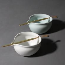 лучшая цена PINNY 220ml Porcelain Green Tea Infuser High Quality Ceramic Tea Strainers Kung Fu Tea Set Tea Ceremony Accessories Bamboo
