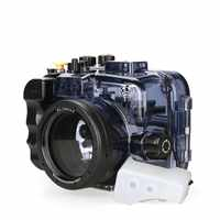 SeaFrogs Waterproof Underwater Camera Housing Case for Sony Alpha A6000 A6300 A6500 60m/195ft waterproof Used With 16-50mm Lens