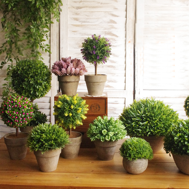 High imitation potted indoor plants decoration simulation for Artificial plants for decoration