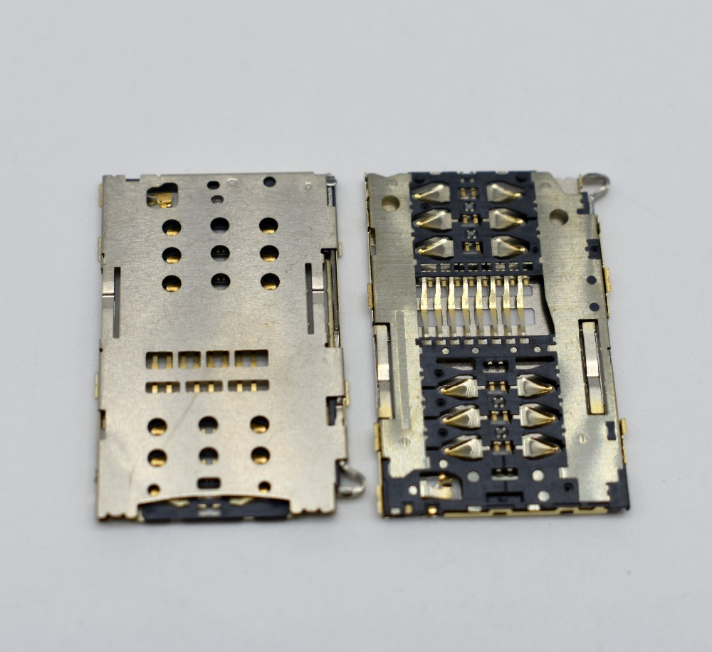 High Quality Redmi Note 3 SIM 1/2 Micro SD/TF Dual SIM Card Reader Connector Socket For Xiaomi Redmi Note 3 Pro Slot Replacement