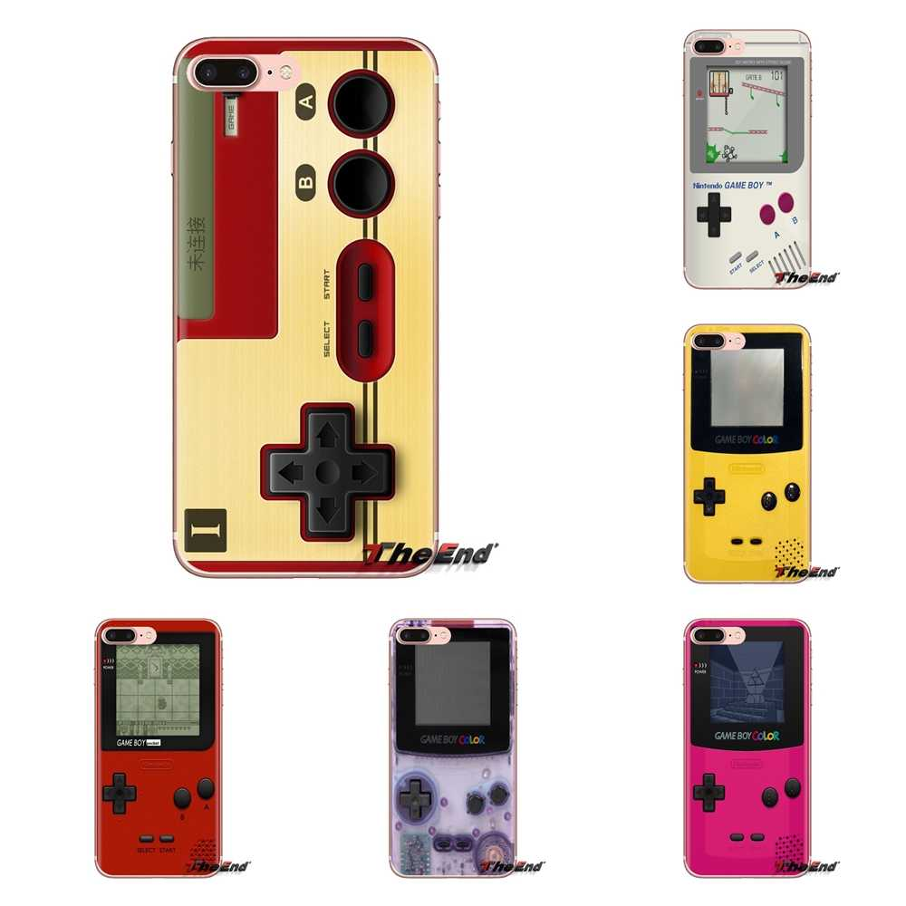 Silikon Kulit Case untuk Huawei G7 G8 P7 P8 P9 P10 P20 P30 Lite Mini Pro P Smart PLUS 2017 2018 2019 Game Boy PSP Game Box Pokemon