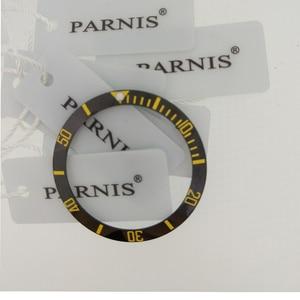 Image 2 - 38mm Ceramic Bezel Insert for 40mm Mens Watch Model PA2105 Parnis Original Ceramic Bezel Insert for 40mm Automatic Watch