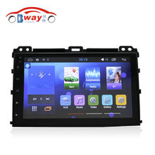 Free shipping 9″ auto radio for Toyota Prado 2004-2009 Quadcore Android 4.4 car multimedia with 1 G RAM,16G iNand,steering wheel