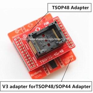 Image 2 - TSOP32 TSOP40 TSOP48 + TSOP48/SOP44 V3 Board for TL866CS / TL866A/ TL866II Plus universal programmer usb only