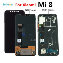 6.21 Original LCD For Xiaomi Mi8 Mi 8 MI8 LCD display Screen Touch panel Digitizer Assembly with frame for xiaomi8 mi8 lcd new and original mi lcd panel