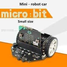 Микро: бит умный автомобиль мини-робот автомобиль инфракрасная патрульная линия графическое Программирование