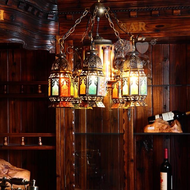Designer Antigo Mediterrâneo Bar De Ferro Forjado Lâmpadas De Iluminação  Lustre De Fazenda Projetos