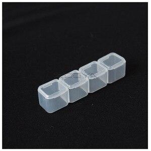 Image 5 - ZOOYA Diamant Schilderen Gereedschap Accessoire Kralen Container Diamant Borduurwerk Steen Opbergdoos voor sieraden Mozaïek Gemak T007