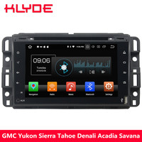 KLYDE 4G Android 8.0 Octa Core 4GB RAM Car DVD Multimedia Player For GMC Yukon Sierra Tahoe Chevy Express Impala Cobalt Equinox