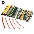 Nueva llegada 140 unids/lote 7 colores surtido 2:1 Tubo termorretráctil tubo manguito Cable Kit de alta calidad