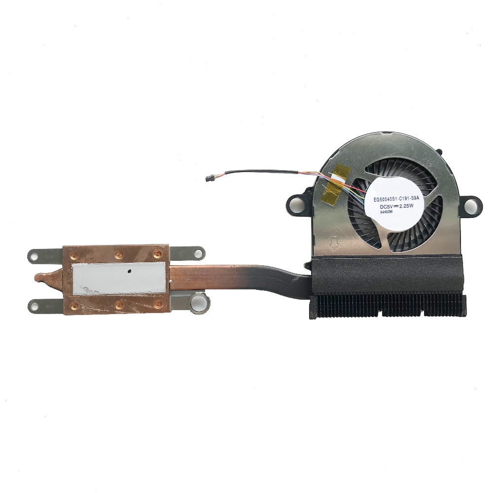 "Lenovo IdeaPad Yoga 11S 11.6/"" CPU Cooling Fan and Heatsink AT0T4001SS0"