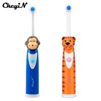 Bàn Chải Đánh Răng điện cho Trẻ Em Cartoon Răng Bàn Chải Bé Massage Điện Xoay Bàn Chải Đánh Răng Răng Chăm Sóc Răng Vệ Sinh Răng Miệng