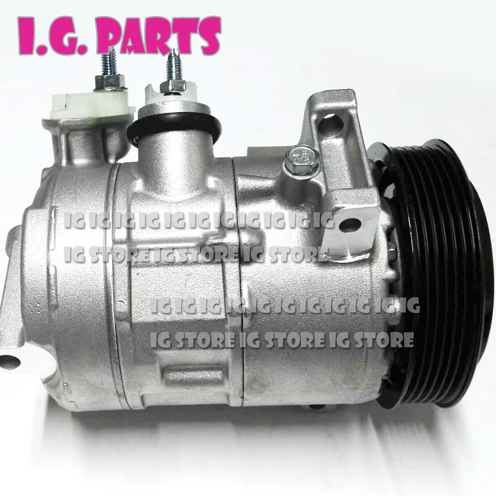6SEU16C AC Compressor For Jeep Compass Sport 0610312 639893 158388 4471500751 55111610AC CO 30011C 55111610AA RL111610AB 09 17 in Air conditioning Installation from Automobiles Motorcycles