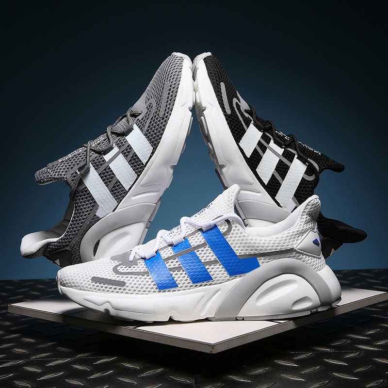 รองเท้าวิ่งรองเท้าสำหรับชายรองเท้าผ้าใบฤดูร้อน Breathable ตาข่ายกีฬากลางแจ้งรองเท้าผู้ชายเพิ่มด้านบน Lace Up รองเท้า Zapatos De mujer