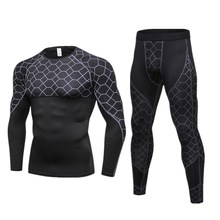 Motorcycle Men Underwears Suits Sport Quick drying Perspiration Fitness Base Layers Tight Tops&Pants Sportswear Underwear naturehike factory store breathable perspiration antibacterial function men sports quick drying underwear boxer shorts