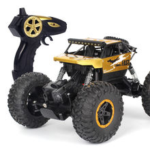 Kids Cars Toys 1/18 2.4G 4WD 15KM/h Monster Truck Friction Power Vehicles Baby Boys Super Cars Blaze Truck Gift Toys 2019 6.5(China)