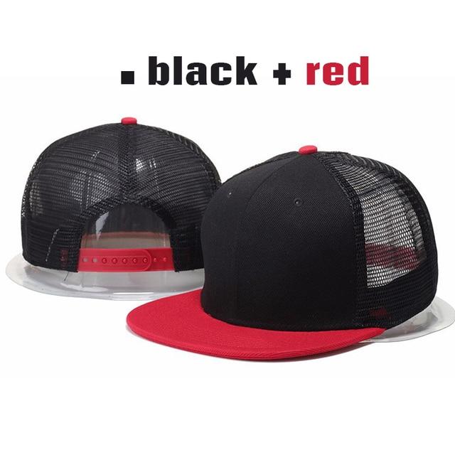 2015 Новое Прибытие Пустой Сетки Snapback Hat Для Мужчин Камуфляж Хлопок Бейсболка 9 цвета Женщины Горячая Сетка Регулируемые Шапки Шляпы От Солнца,