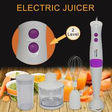 4-in-1 Electric Blender Meat Chopper Whisk Cup Fruit Vegetable Food Mixer Juicer Useful