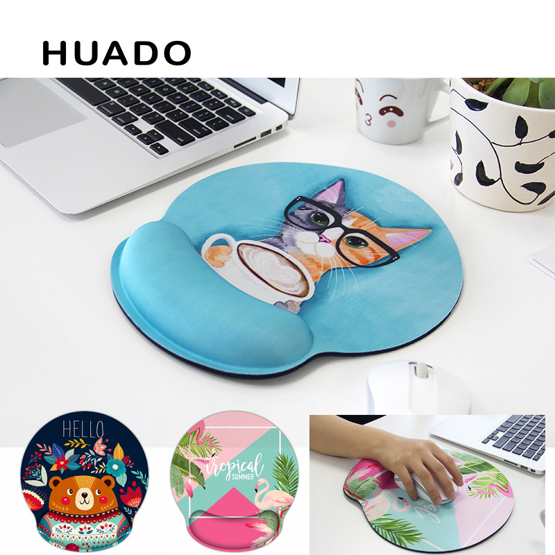 3D Mousepad Anime Cat Paw Mouse Pad Thicken Soft Silicone Wrist Rest Mouse Mat