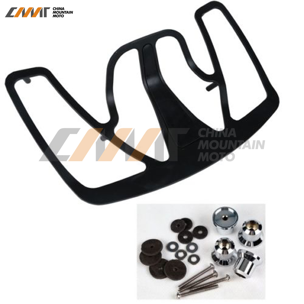 Black Luggage Rack case for Honda GL1800 Goldwing 2001-2011 transition metal complexes of benzopyran 4 one schiff bases