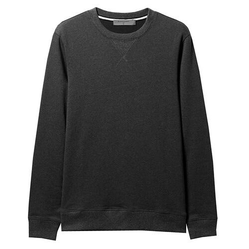 Giordano Men Sweatshirt Solid Pullover Sweatshirt Men Long Sleeve Fashion Terry Mens Clothes Sudadera Hombre Moleton Masculino 11
