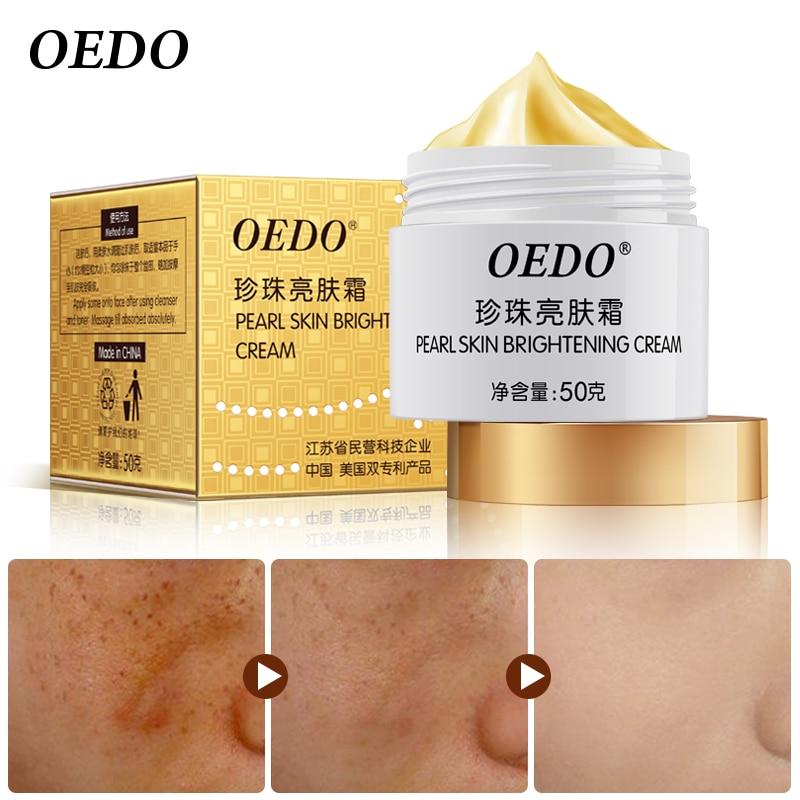 Anti Freckle Pearl Skin Brightening Cream Contain Chinese Medicine Skin Care Dou