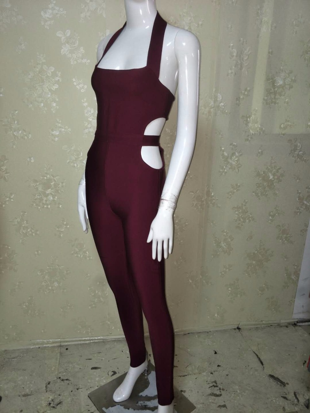 White Quality burgundy New Jumpsuits gray Black Black 2018 Sexy Wholesale Summer High A70 Gray Arriva Red adqqWv