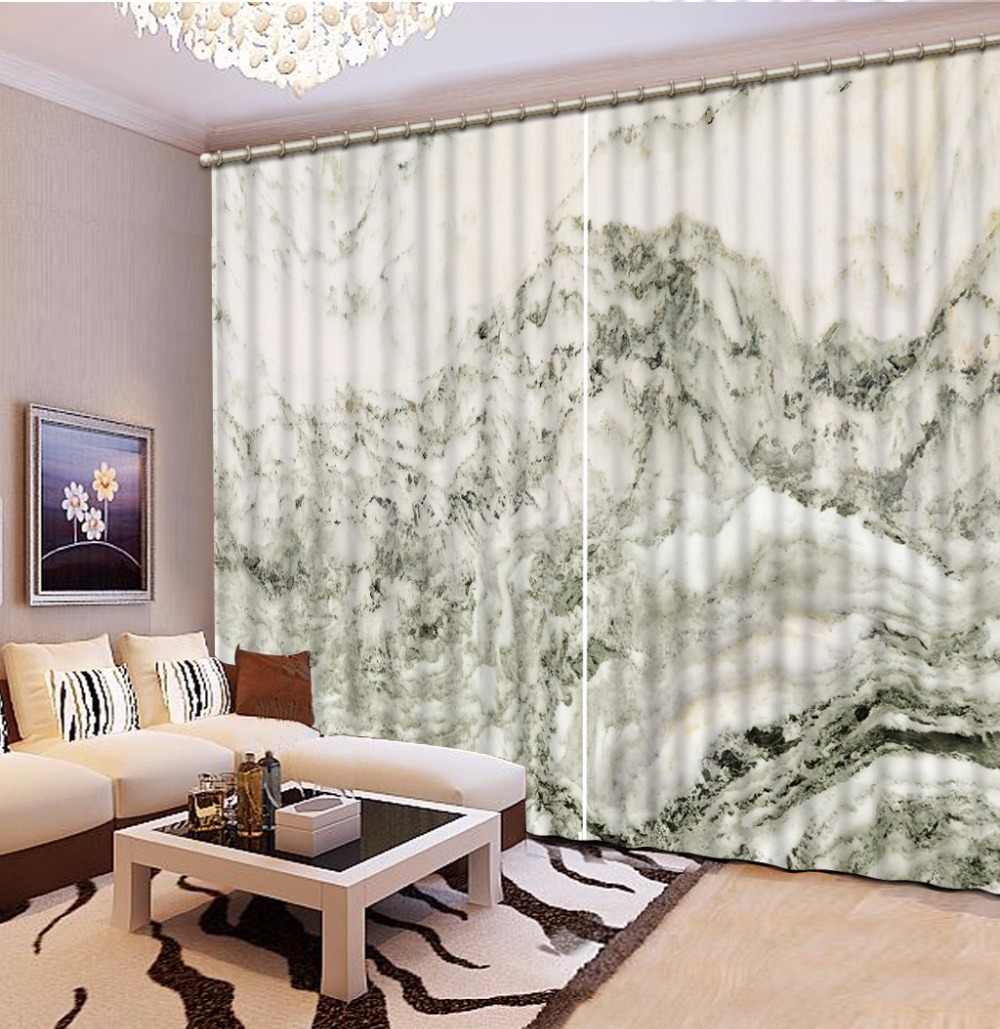 3D Curtains Stereoscopic marble Curtains Modern Photo Curtains For Living room Customize Window Curtains 3D Curtains Stereoscopic marble Curtains Modern Photo Curtains For Living room Customize Window Curtains