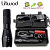 Z50 Hunting Light LED Flashlight Lighting XM L T6 5000Lm Zoomable Torch Lantern Portable Light Remote