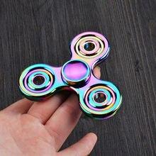 เย็นใหม่ล่าสุดมินิM Ulticolorมืออยู่ไม่สุขปินเนอร์หรูหราที่มีสีสันสีโฟกัสโต๊ะของเล่นEDCนิ้วGyro