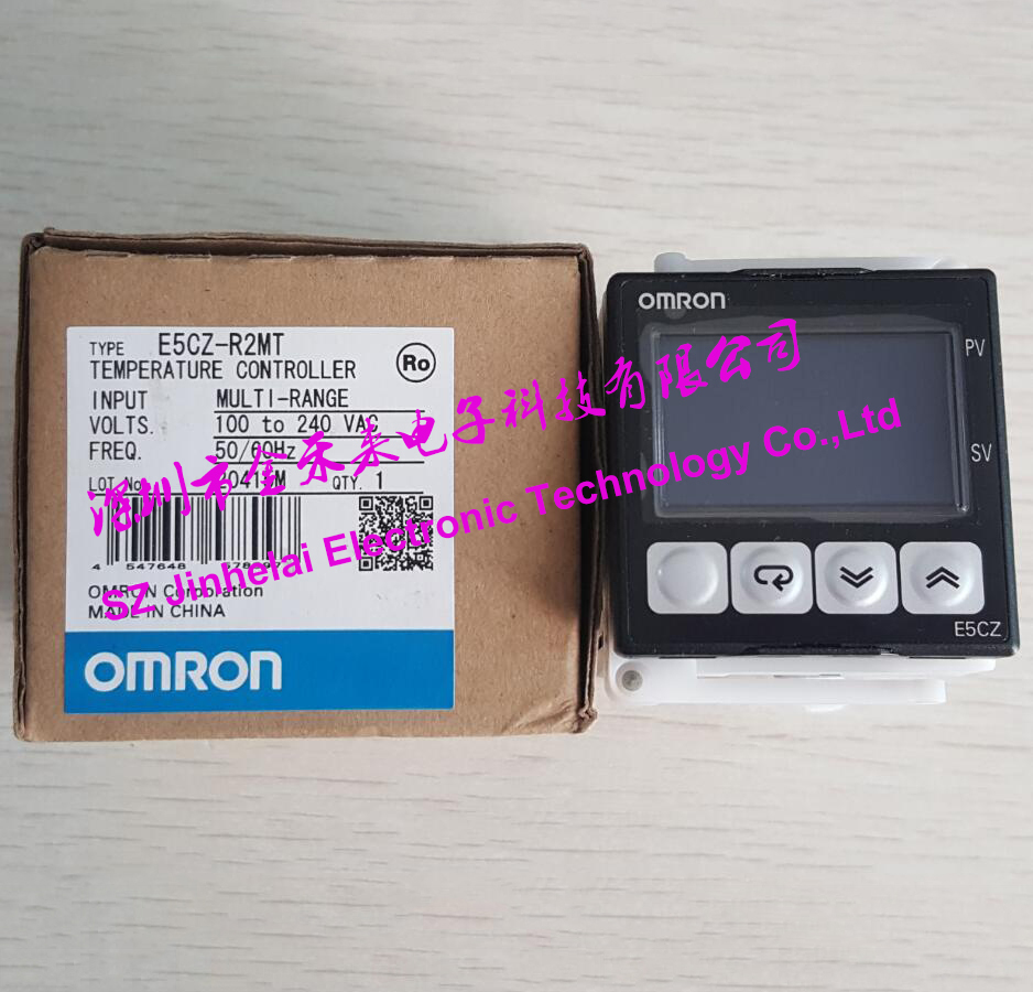 OMRON E5C4 Temperature Controller Regulator Shock Resistance K-Type 220V