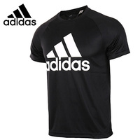 Original New Arrival 2017 Adidas D2M TEE LOGO Men S T Shirts Short Sleeve Sportswear