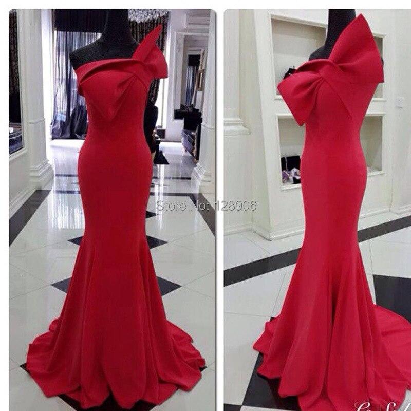 Вечернее платья с бантом
