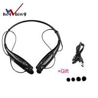 Hot HBS-730 Wireless Bluetooth Headset Sports Bluetooth Earphones Headphone with Mic Bass Earphone for Samsung iphone
