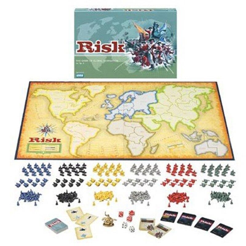 RISQUE Jeu de Société De Guerre-Domination Mondiale Stratégie Jeux de société Risico/Risco Table Jeux 2-6 Joueurs 30 Min Anglais Version