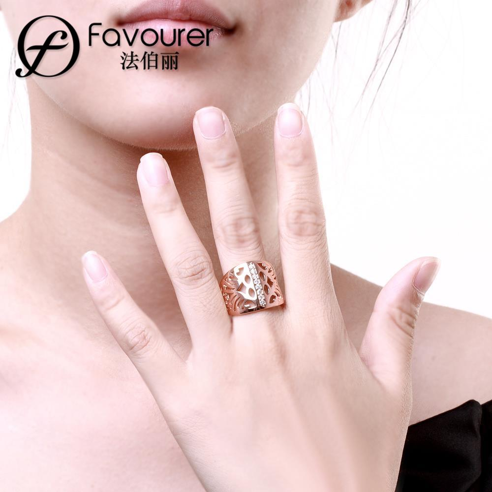 Aliexpress.com : Buy Free shipping fashion lover\'s gold ring promise ...
