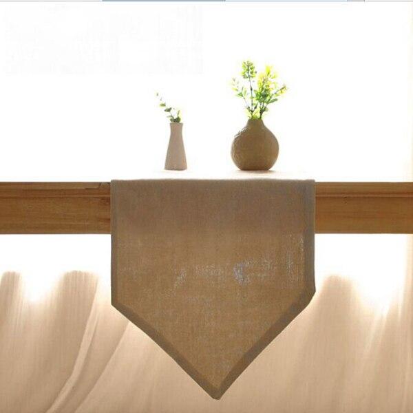 17 09 41 De Reduction Sk Chemin De Table Solide Couleur Ichiban Japonais Table A Manger Table Basse Style Simple Plaine Chiffon Doux Monte Linge De