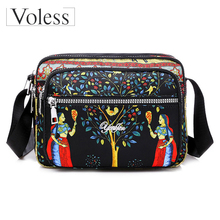 Summer Style Bags for Women Shoulder Bag Messenger Female Handbags Fashion Nylon Crossbody Bolsas Sac A Main Femme