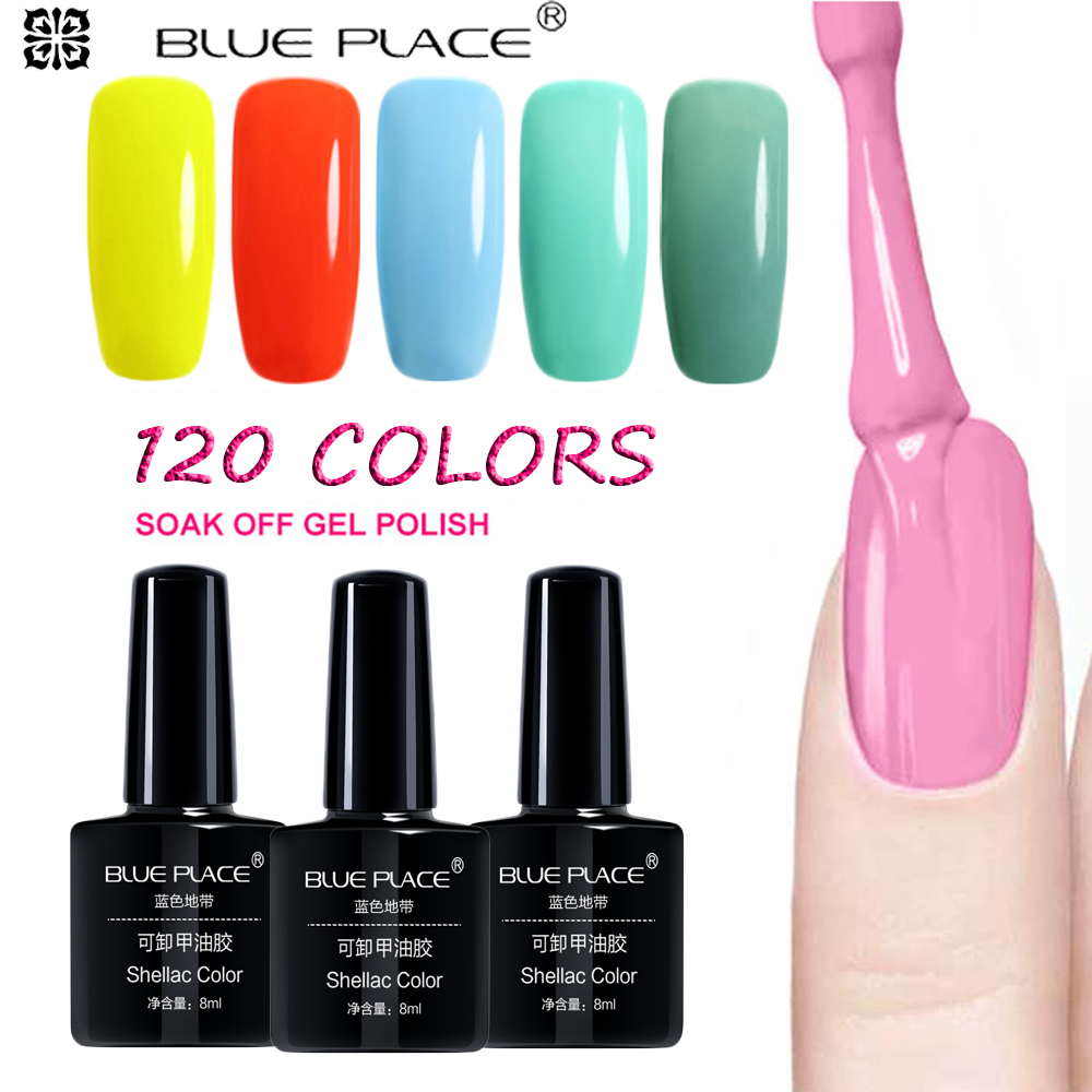 SIOUX 8ML Soak Off UV Gel Esmalte de Uñas de Uñas de Manicura - Arte de uñas