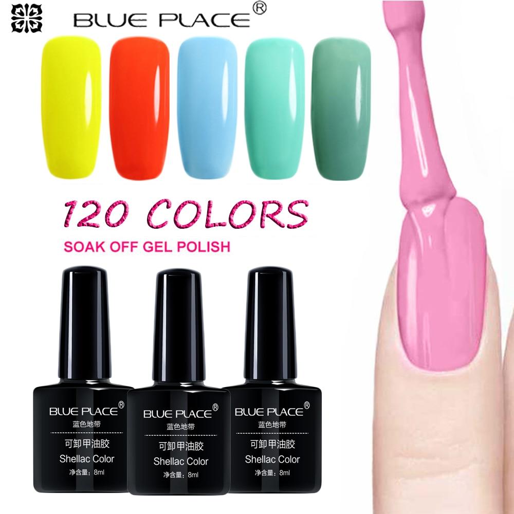 SIOUX 8 ML Soak Off Gel UV Nail Gel Polish Manicure Nail Art Vernis - Manicure