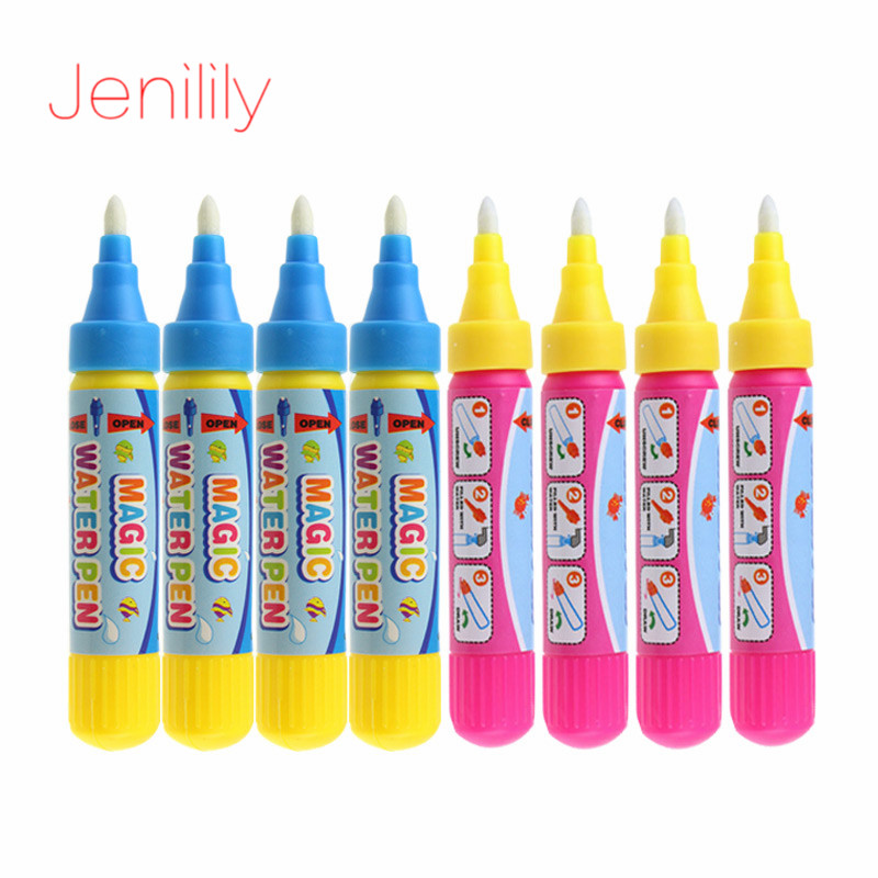 Reusable Non Toxic Magic Water Drawing Pen/EVA Stamp Toys For Kids Painting Drawing Toy Accessories Doodle Pen Education Toys