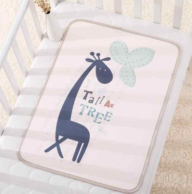 Alfombrilla de pañales para bebé, alfombrilla de pañales para bebé, colchoneta de dibujos animados, colchón lavable, cambio de colchón, impresión BHS001