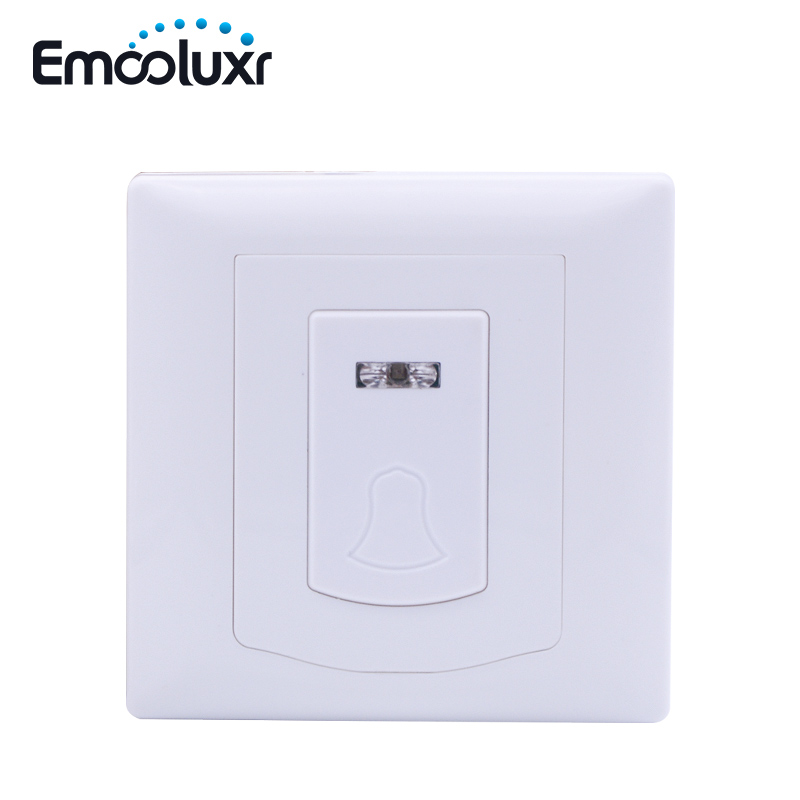 PB-206R Wireless Doorbell Door Chime work with Wireless Intruder Alarm System ST-VGT, ST-IIIB new wireless glass break sensor with alarming sounds works with st vgt and st iiib alarm system