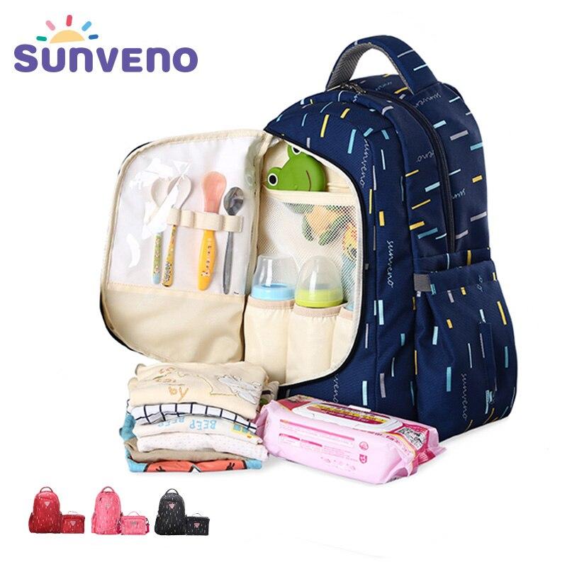 Sunveno Водонепроницаемый рюкзак сумка для коляски сумка для мамы сумка на коляску рюкзак женский детские чемоданы детские сумки