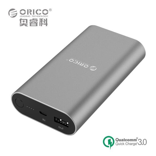 QC3.0 Power Bank 10050mA LG18650 Высокая Емкость Универсальный Портативный Быстрое Зарядное Устройство для Почти Смартфонов (ORICO QS1)
