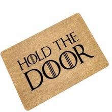 Doormats Hold The Door Entrance Welcome