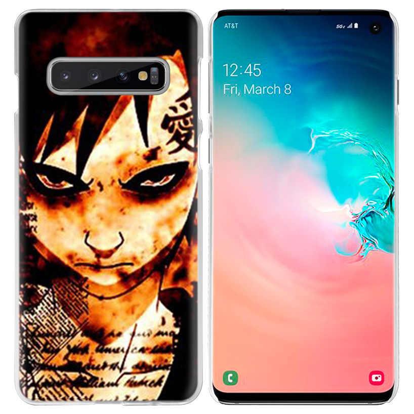 Naruto Anime Japonês Colagem capa Samsung Galaxy S10 5G S10e S9 S8 M30 M20 M10 J4 J6 Plus J8 2018 Nota 8 9 Rígido Tampa Do Telefone