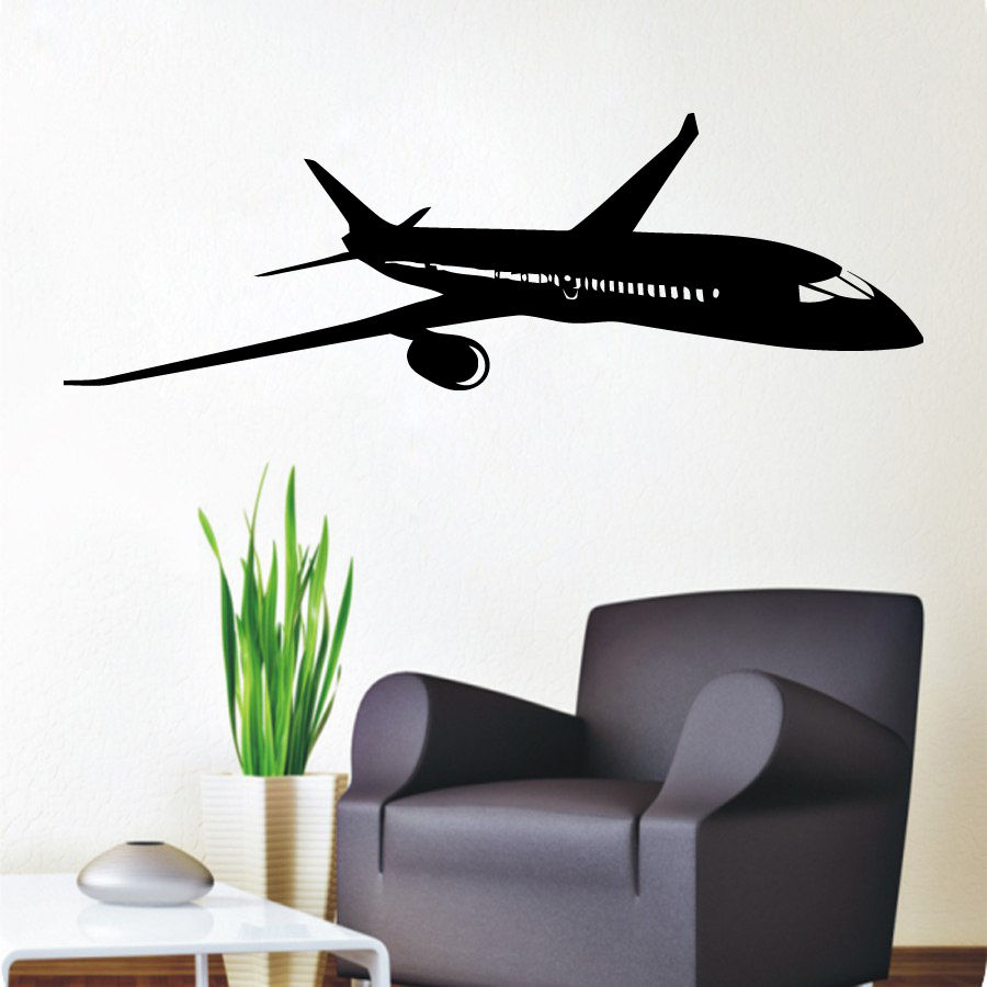 Aliexpress Com Buy Home Decoration Wall Decals Airplane