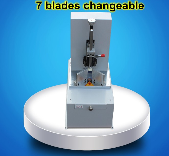 2018 New Electric Stack Paper Corner Cutter Rounder Machine R3 to R9 7 blades changeable ampeg micro cl stack